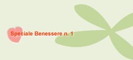Speciale Benessere N. 1